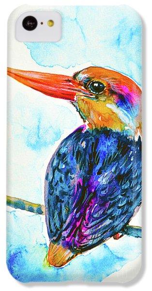 Oriental Dwarf Kingfisher IPhone 5c Case by Zaira Dzhaubaeva