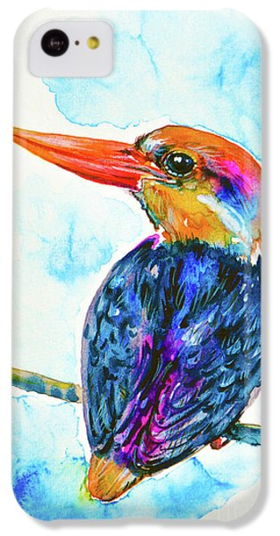 Oriental Dwarf Kingfisher IPhone 5c Case by Zaira Dzhaubaeva