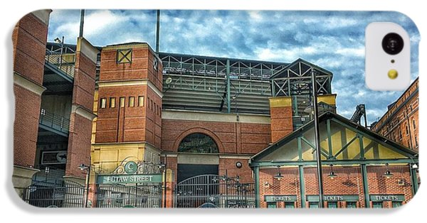 Oriole iPhone 5c Case - Oriole Park At Camden Yards Gate by Marianna Mills
