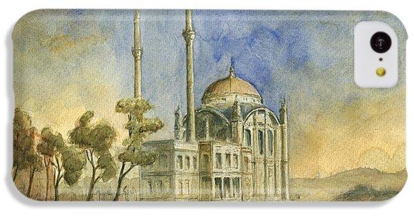 Turkey iPhone 5c Case - Ortakoy Mosque Istanbul by Juan Bosco