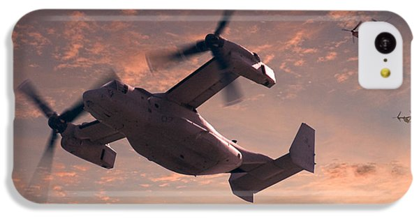 Helicopter iPhone 5c Case - Ospreys In Flight by Mike McGlothlen