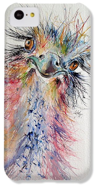 Ostrich IPhone 5c Case by Kovacs Anna Brigitta