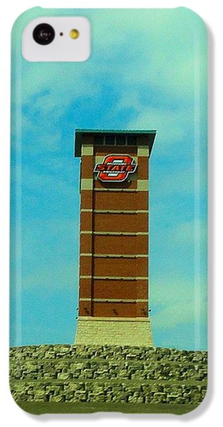 Oklahoma State University Gateway To Osu Tulsa Campus IPhone 5c Case by Janette Boyd