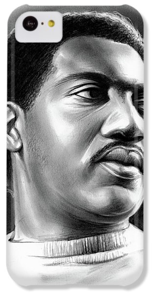 Rhythm And Blues iPhone 5c Case - Otis Redding by Greg Joens