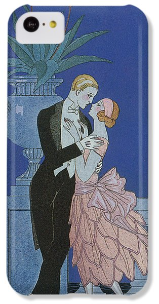 Valentines Day iPhone 5c Case - Oui by Georges Barbier