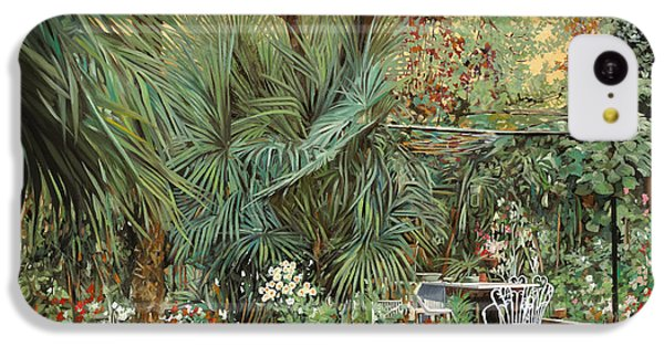 Our Little Garden IPhone 5c Case by Guido Borelli