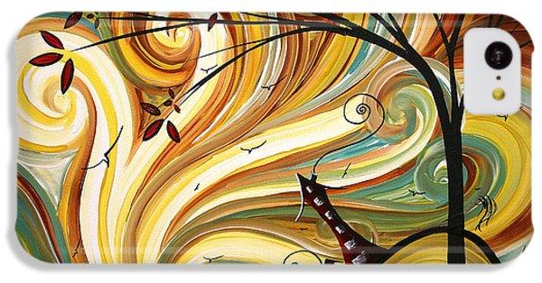 Landscape iPhone 5c Case - Out West Original Madart Painting by Megan Duncanson