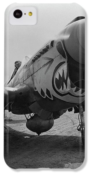 Tiger iPhone 5c Case - P-40 Warhawk - Flying Tiger by War Is Hell Store