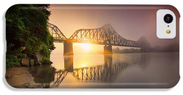 P And Le Ohio River Railroad Bridge IPhone 5c Case