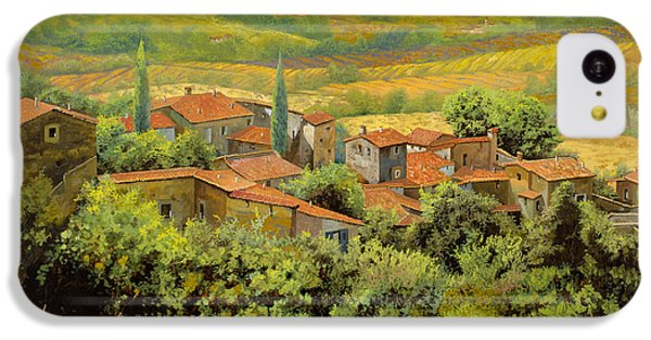 Landscapes iPhone 5c Case - Paesaggio Toscano by Guido Borelli