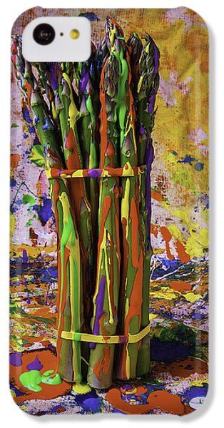 Painted Asparagus IPhone 5c Case