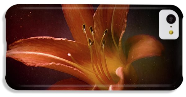 Floral iPhone 5c Case - Painted Lily by Scott Norris