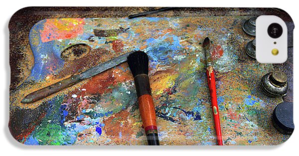 IPhone 5c Case featuring the photograph Painter's Palette by Jessica Jenney
