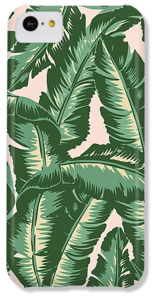 Palm Print IPhone 5c Case by Lauren Amelia Hughes