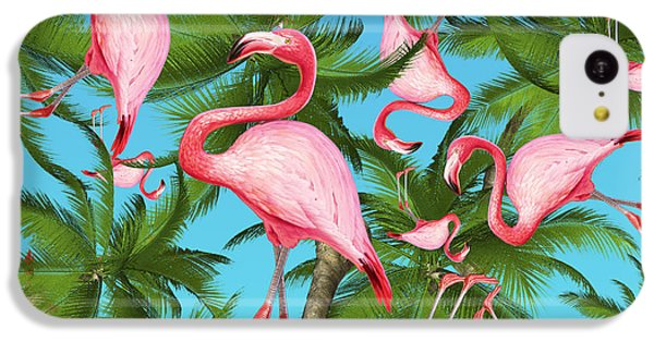 Palm Tree IPhone 5c Case by Mark Ashkenazi
