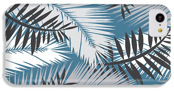 Palm Trees 10 IPhone 5c Case by Mark Ashkenazi