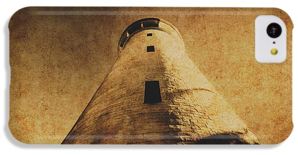 Navigation iPhone 5c Case - Parchment Paper Lighthouse by Jorgo Photography - Wall Art Gallery