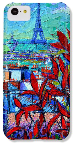 Paris Rooftops - View From Printemps Terrace   IPhone 5c Case
