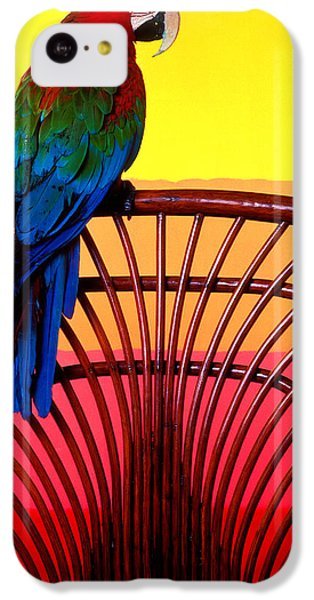 Parrot Sitting On Chair IPhone 5c Case