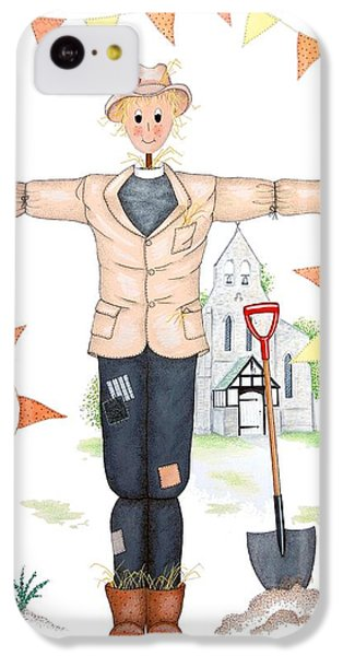 Parson Scarecrow IPhone 5c Case by Sandra Moore