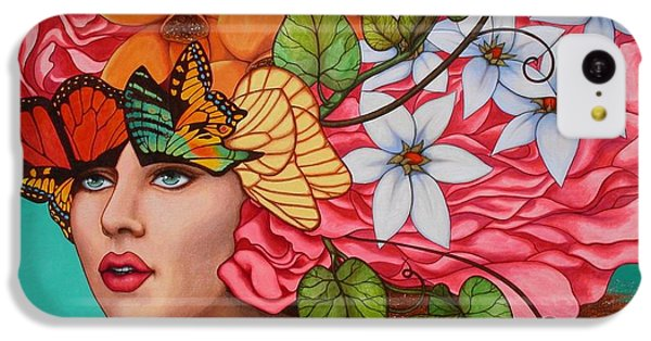 Fairy iPhone 5c Case - Passionate Pursuit by Helena Rose