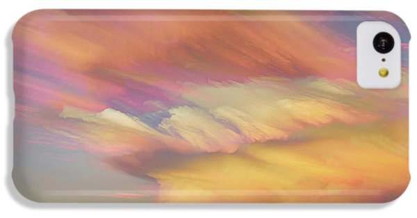 IPhone 5c Case featuring the photograph Pastel Painted Big Country Sky by James BO Insogna