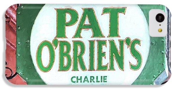 IPhone 5c Case featuring the photograph Pat Obriens by JC Findley