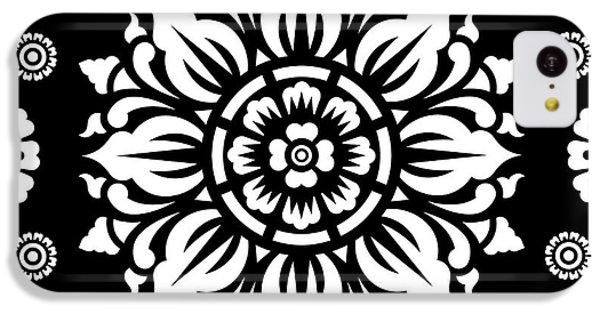 Pattern Art 01-1 IPhone 5c Case by Bobbi Freelance