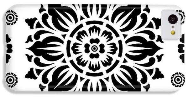 Pattern Art 01-2 IPhone 5c Case by Bobbi Freelance