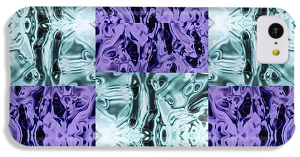 iPhone 5c Case - Ultra Violet  And Water  by Naomi Ibuki