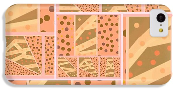 The Art Of Gandy iPhone 5c Case - Patterns Of Finding Solace 200 by Joan Ellen Kimbrough Gandy of The Art Of Gandy