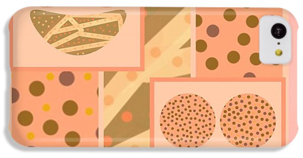The Art Of Gandy iPhone 5c Case - Patterns Of Finding Solace 300 by Joan Ellen Kimbrough Gandy