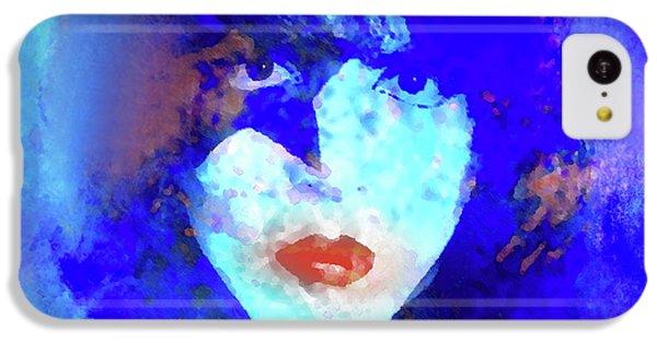 Def Leppard iPhone 5c Case - Paul Stanley Of Kiss - Portrait by Enki Art
