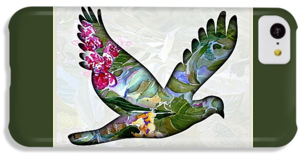 Peace For Peace IPhone 5c Case by Mindy Newman
