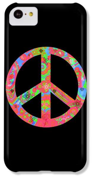 Peace IPhone 5c Case