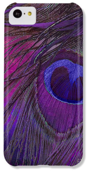 Peacock Candy Purple  IPhone 5c Case