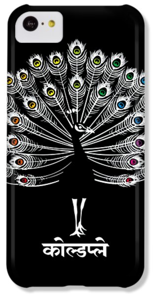 Coldplay iPhone 5c Case - Peacock by Leora Cia