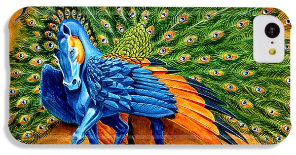 Peacock Pegasus IPhone 5c Case