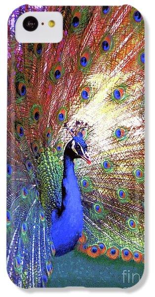 Peacock Wonder, Colorful Art IPhone 5c Case