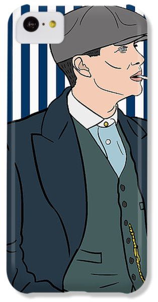Peaky Blinders IPhone 5c Case by Nicole Wilson