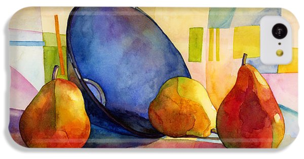 Fruit Bowl iPhone 5c Case - Pears And Blue Bowl by Hailey E Herrera