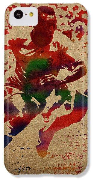 Pele Watercolor Portrait IPhone 5c Case