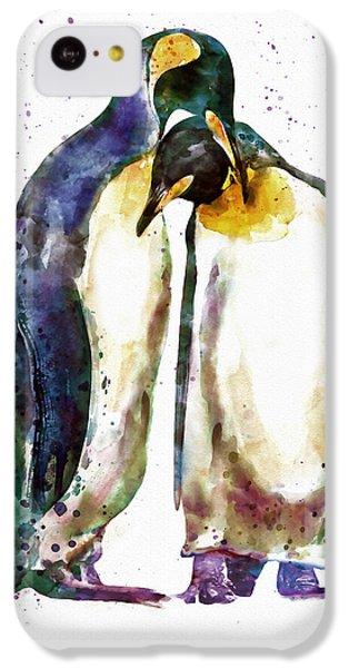 Penguin Couple IPhone 5c Case by Marian Voicu