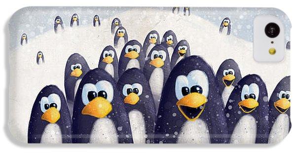 Penguin Winter IPhone 5c Case