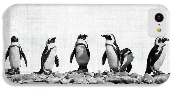 Penguin iPhone 5c Case - Penguins by Delphimages Photo Creations
