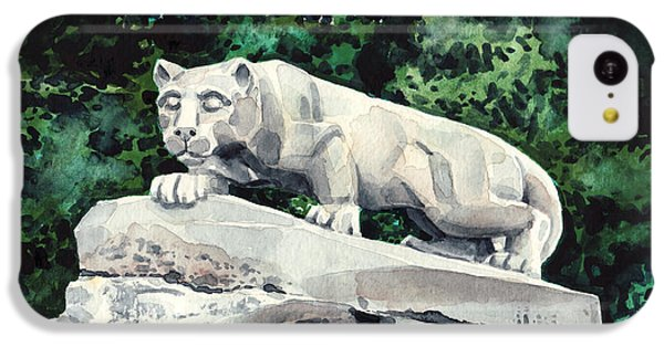 Penn State Nittany Lion Shrine University Happy Valley Joe Paterno IPhone 5c Case by Laura Row