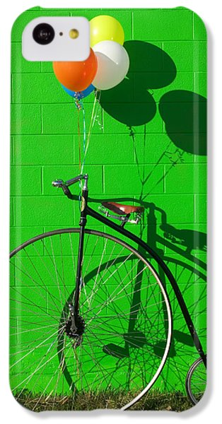 Bicycle iPhone 5c Case - Penny Farthing Bike by Garry Gay