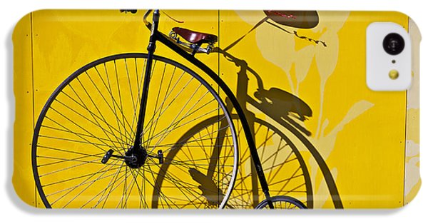 Bicycle iPhone 5c Case - Penny Farthing Love by Garry Gay