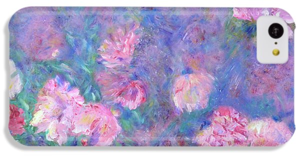 IPhone 5c Case featuring the painting Peonies by Claire Bull
