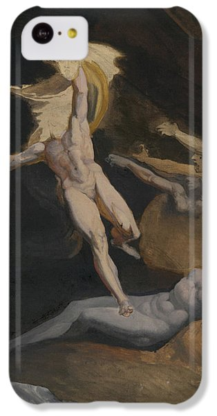Gorgon iPhone 5c Case - Perseus Slaying The Medusa by Henry Fuseli